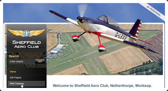 Sheffield Aero Club website
